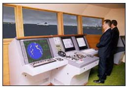 Bridge simulator, Marine State University (Vladivostok)