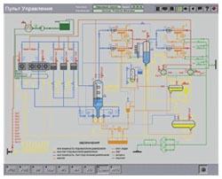 Технологическая схема холодильной установки морозильных комплексов