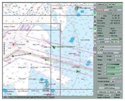 Отображение данных на ЭКС NS3000