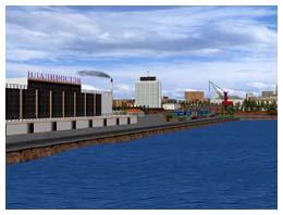 Район плавания Владивосток, здание Морского вокзала